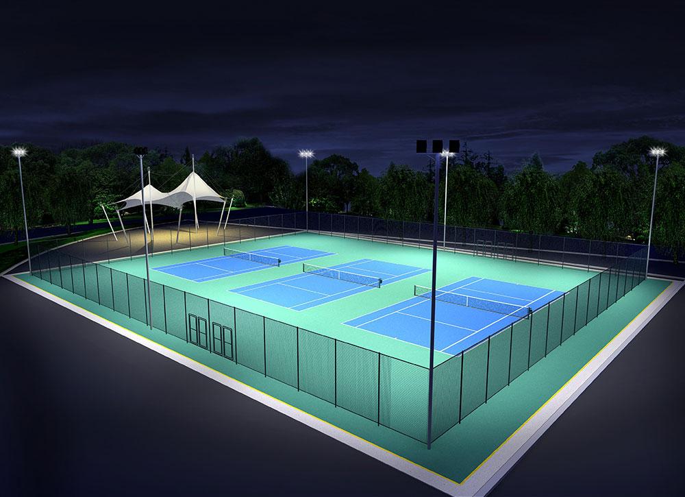 网球场效果