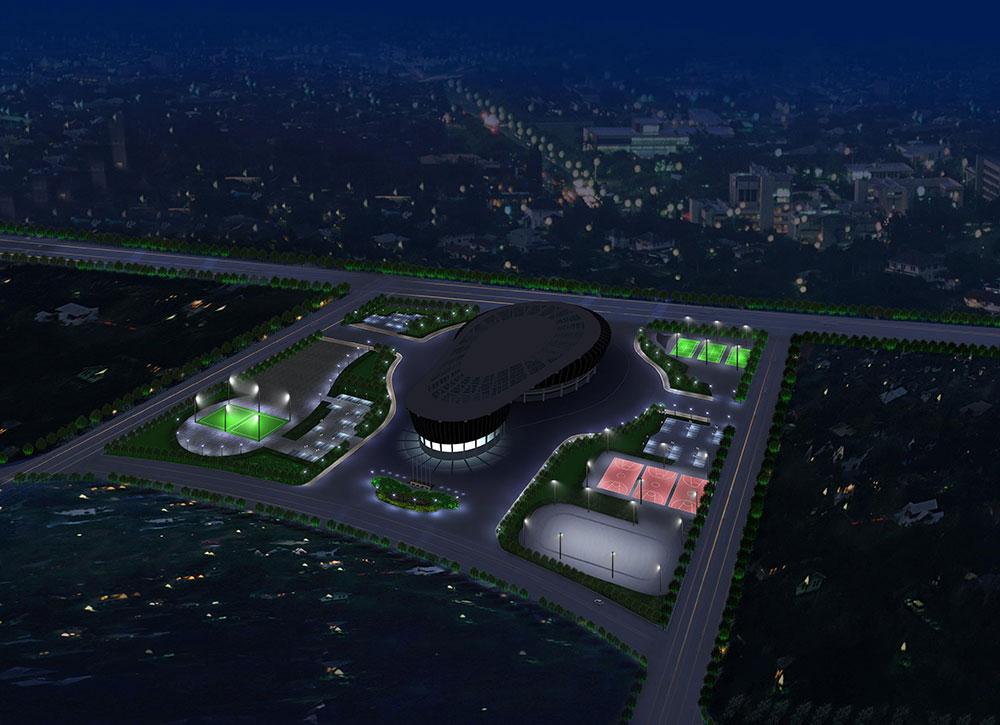 体育场鸟瞰图